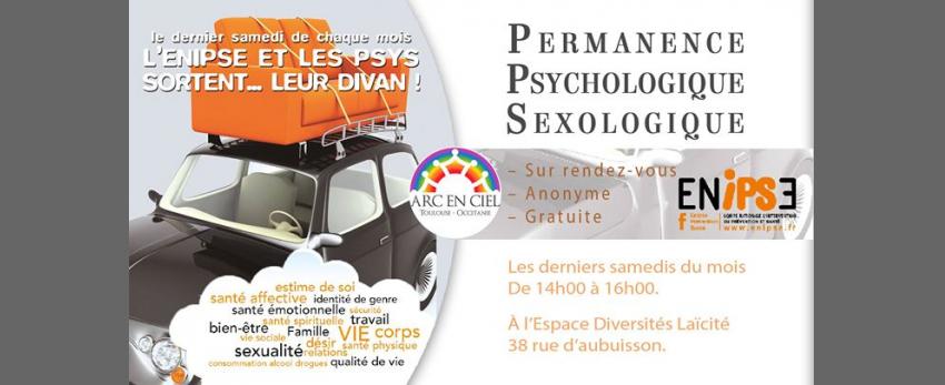 Permanence d'accueil Psychologique / Sexologique