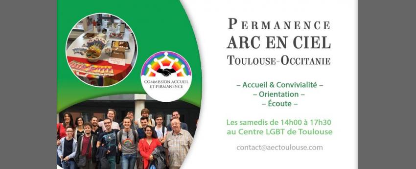 Permanence ARC EN CIEL Toulouse/Occitanie