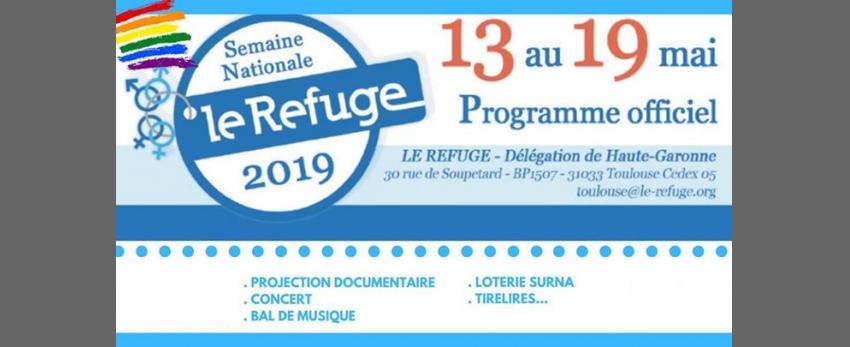 Semaine Nationale Le Refuge 2019 - Délégation Haute-Garonne