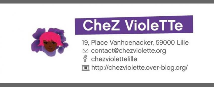 Joyeuse permanence // association Chez Violette