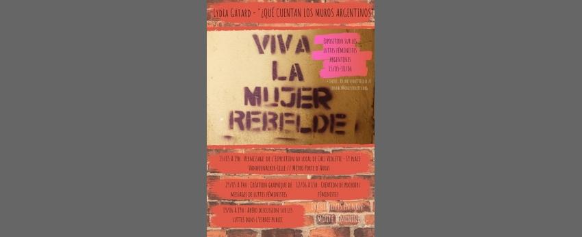 Vernissage // Photographies des luttes féministes en Argentine