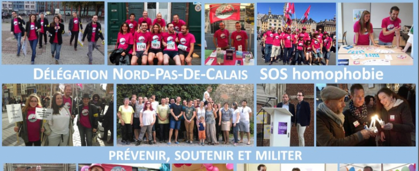 SOS Homophobie - Nord Pas de Calais