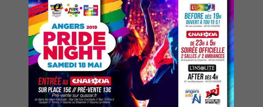 Pride Night // Angers 2019 // Soirée officielle