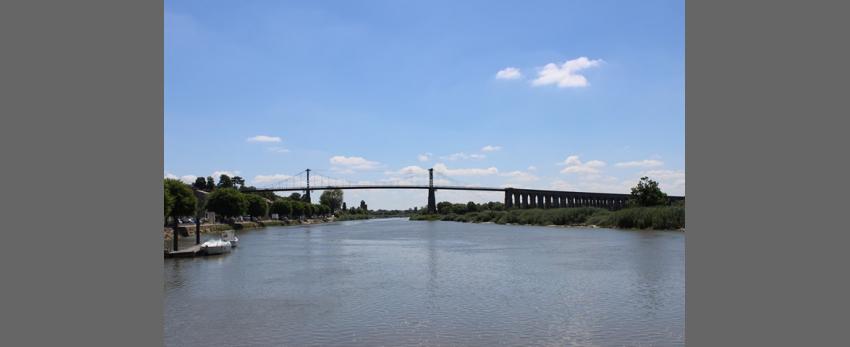 """Rando """"Du pont suspendu de Tonnay-Charente au Pont de la Cèpe"""""""