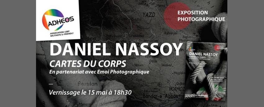 "Exposition ""Cartes du Corps"" de Daniel Nassoy ADHEOS Angoulême"