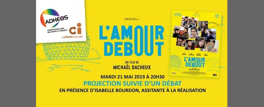 """Projection-Débat """"L'amour Debout"""" en présence d'Isabelle Bourdon"""