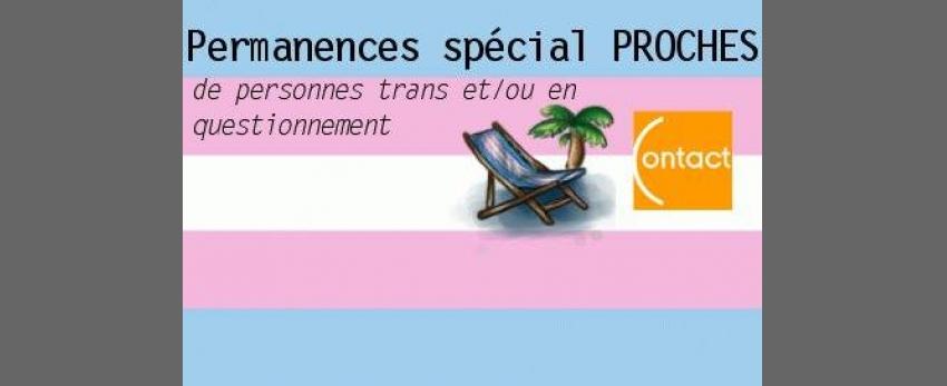 Permanences Transat spécial Proches de personnes trans