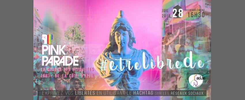 Etrelibrede, exprimez vos libertés pendant la Pink Parade