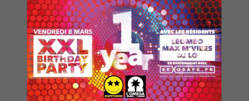 XXL L'Oméga Club Birthday Party One Year