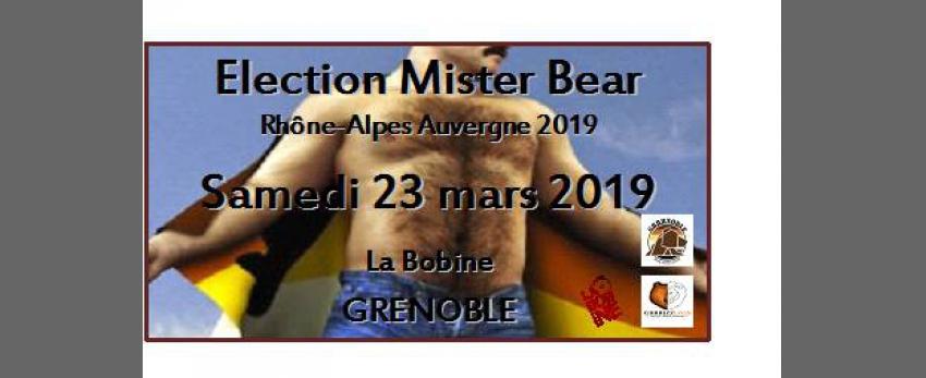 Election Mister Bear 2019 Rhône-Alpes Auvergne