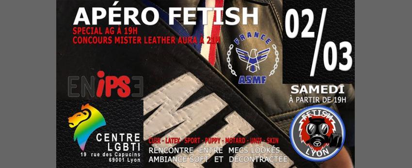 Apéro-Fetish & Soirée COncours Mister Leather Centre-LGBTI Lyon
