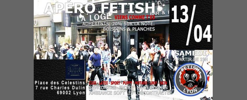 Apéro-Fetish La Loge Célestins Lyon FL69