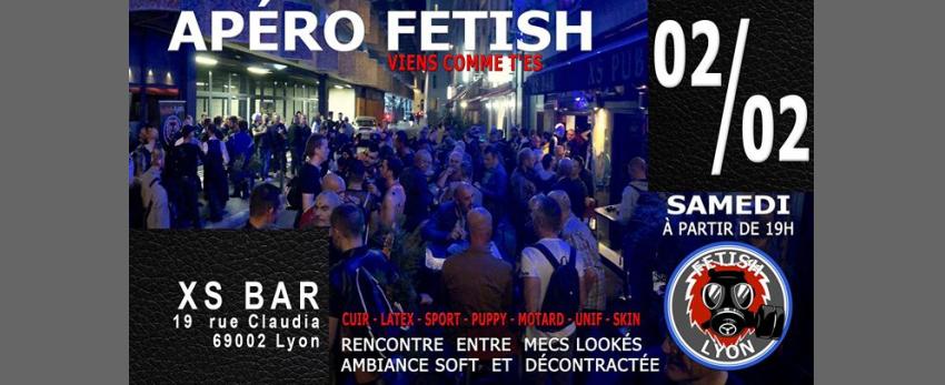 Apéro-Fetish XS 02/02/19 Lyon FL69
