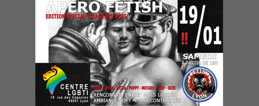 Apéro-Fetish 19/01/19 Centre LGBTI Lyon FL69