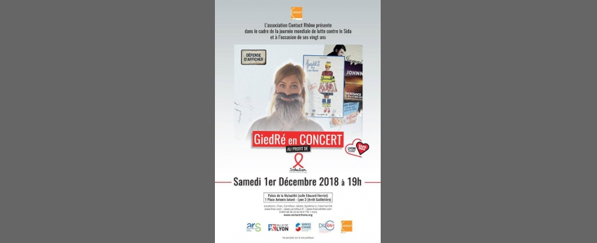 Lyon Contre le SIDA 2018 - GiedRé Est Les Gens