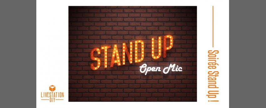Le Mercredi :: Ça Part en Live ! #6 : spécial stand-uppers !