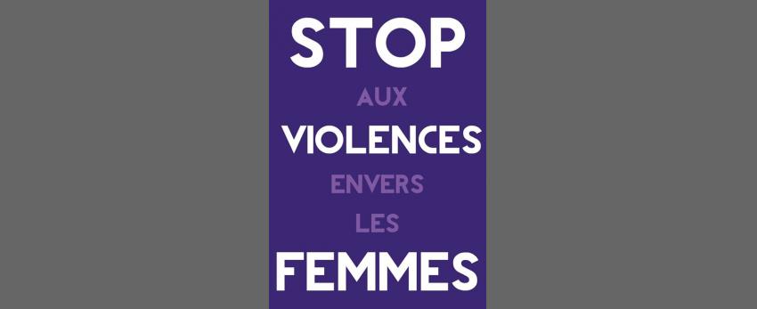 Rassemblement contre les féminicides