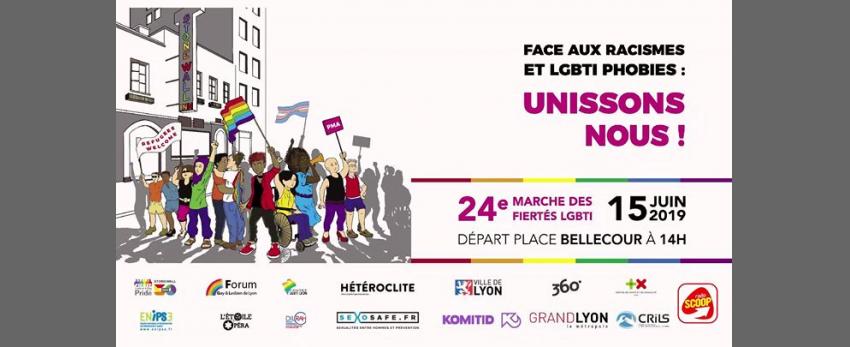 24e marche des Fiertés LGBTI - Lyon 2019