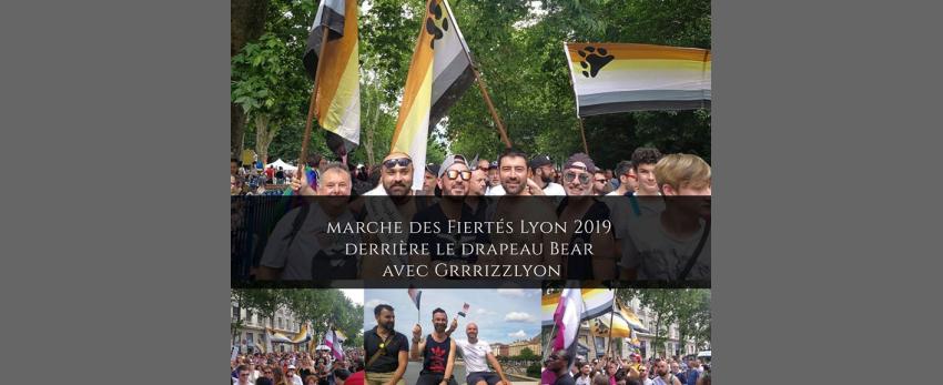 Marche des Fiertés Lyon Bear Meeting