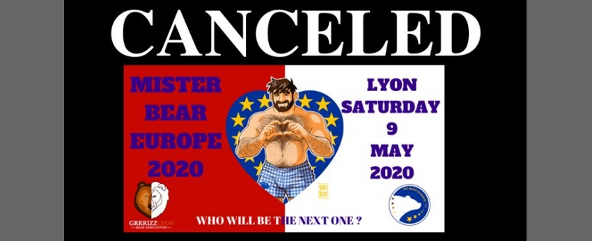 Postponed:Mr Bear Europe 2020 Election