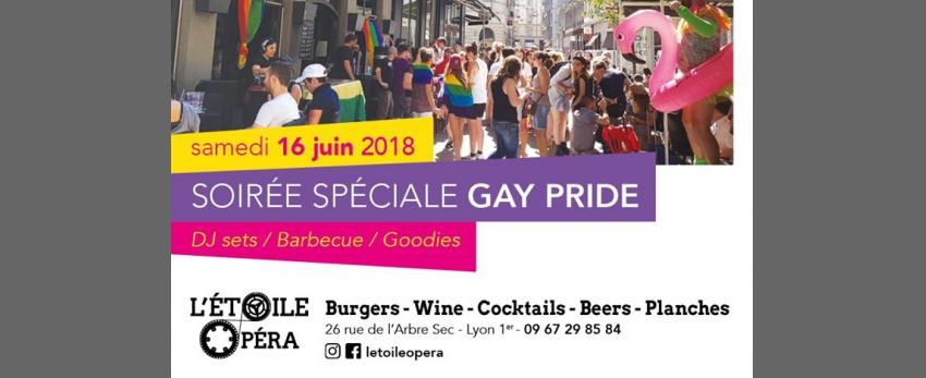 SOIRÉE SPÉCIALE GAY PRIDE