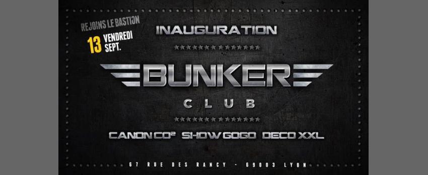 Bunker inauguration / entrée gratuite