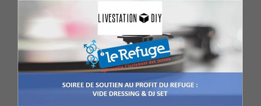 Vide-dressing au profit du Refuge w/ Ma Gda