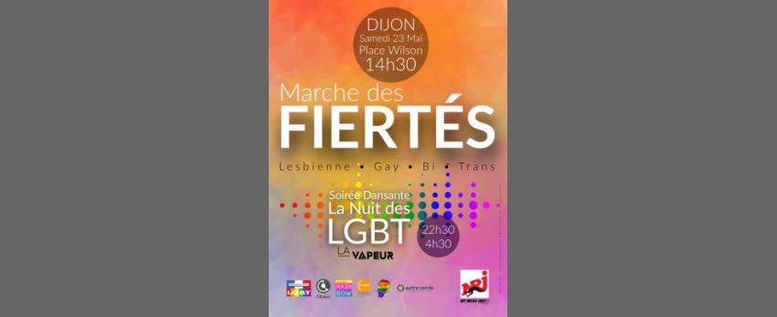 Marche des Fiertés de Dijon 2015