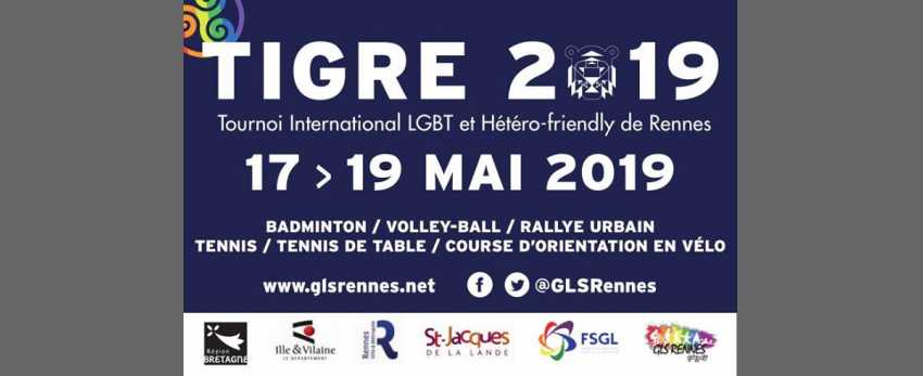 TIGRE - Tournoi International LGBT de Rennes