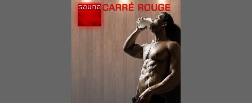 Sauna Carré Rouge