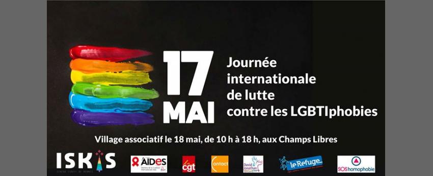 Journée internationale de lutte contre les LGBTIphobies