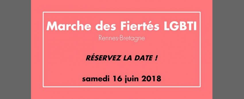 Marche des Fiertés LGBTI Rennes-Bretagne