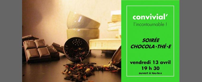 Convivial' Soirée chocola⋅thé⋅e