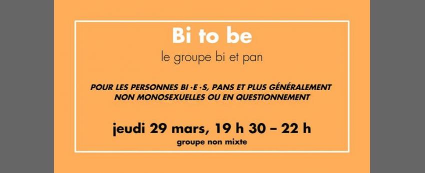 Groupe de partage : Bi to be