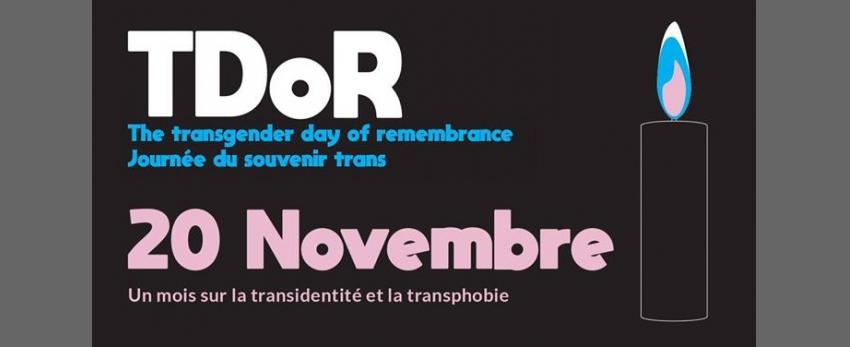 TDoR/ Un mois sur la transidentité et la transphobie