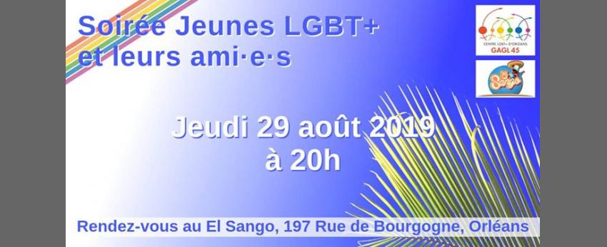 Soirée Jeunes LGBT+ et leurs ami•e•s