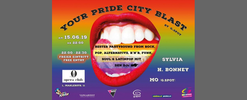 YOUR (O) Pride City Blast by g.spot
