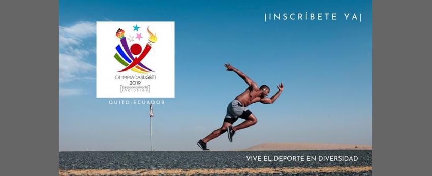 Olimpiadas LGBTI 2019- Ecuador (Inscripciones)