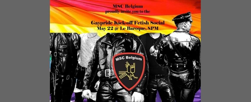 Gaypride Kick-off Fetish Social
