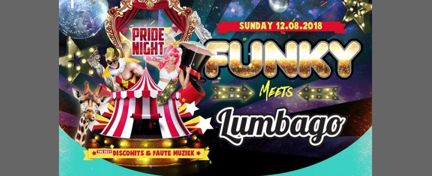 "Pride Night Closing Party ""Funky meets Lumbago"""