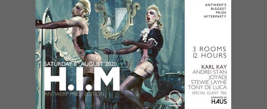 H.I.M Antwerp Pride Edition 2020