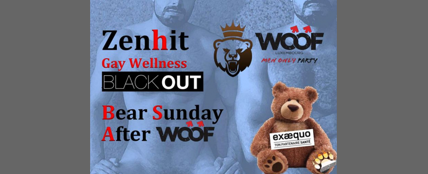 Black OUT & Dépistage gratuit Bear Sunday After WOOF