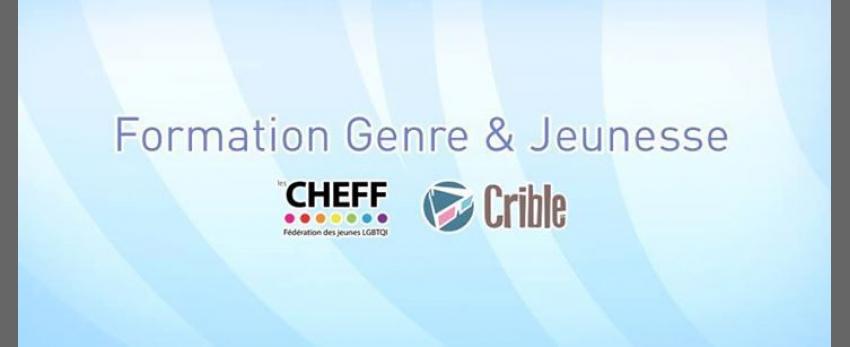 Formation Genre & Jeunesse - Cycle 1 de Bruxelles