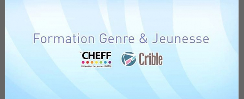 Formation Genre & Jeunesse - Cycle 4 de Mons