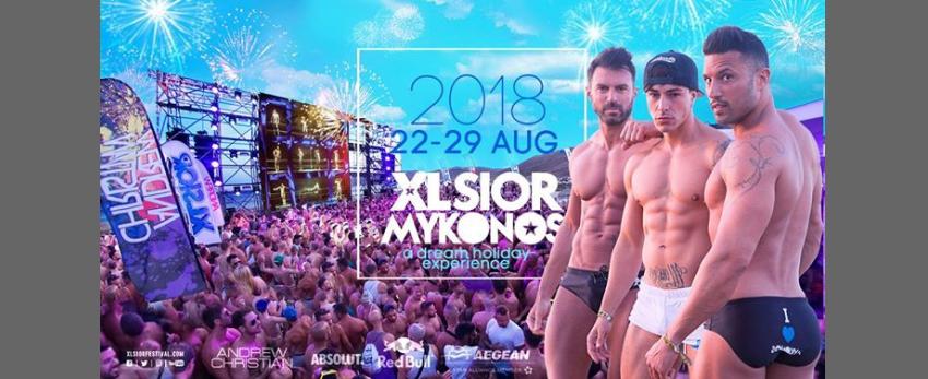 XLSIOR Mykonos • 22-29 August 2018