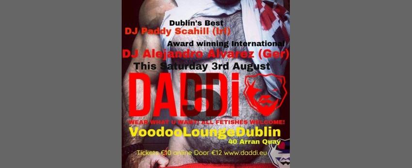Tomorrow night Sat 3rd Aug Celebrate 5yrs of DADDi®