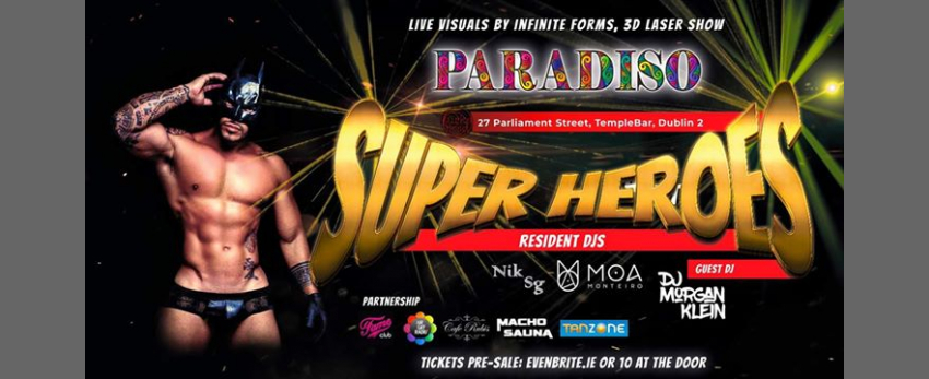 Paradiso - Super Heroes