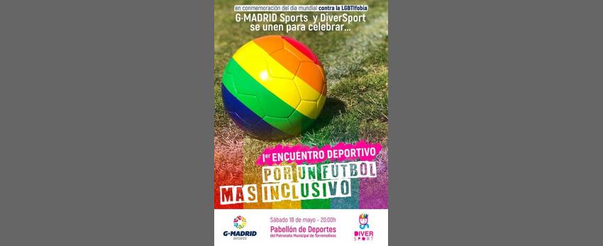 """I Encuentro Deportivo """"Por un fútbol más inclusivo"""""""