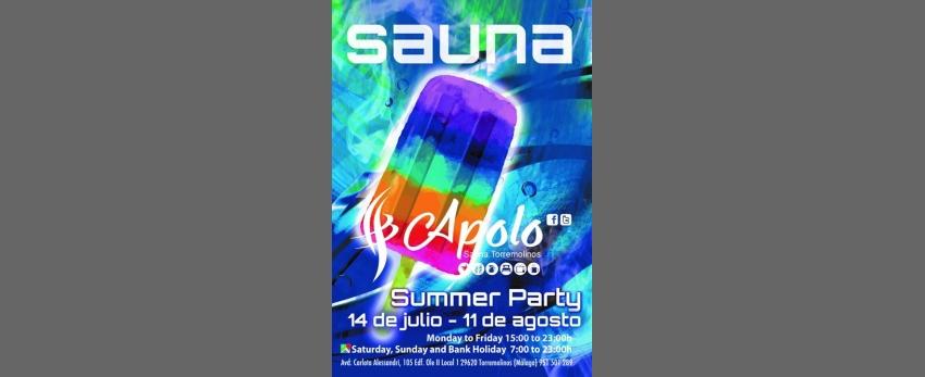 Sauna Apolo Summer Party / 14 de julio