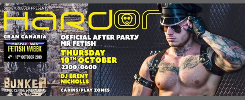 Hard On - Official After Party Mr Fetish